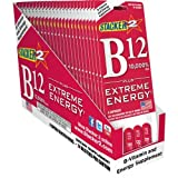 B12 Extreme Energy + Stacker 2 10,000% RDA - (24) Four Count Blister Pks by Stacker