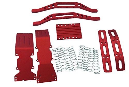 T-Maxx, red Anodized Package Super Deal Includes a Free Set of Silver Dual Rate Springs