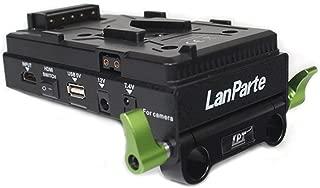 Lanparte VBP-01 SONY V-Mount Battery Pinch with HDMI Splitter, Multiple Power Ports, V-Lock (Black)