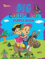 Big Colouring Purple Book for 5 to 9 years Old Kids Fun Activity and Colouring Book for Children