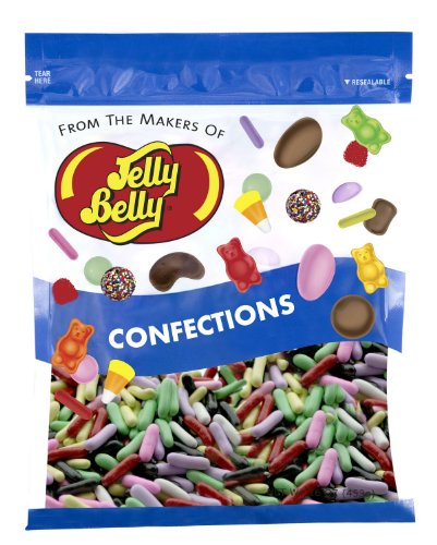 Jelly Belly Licorice Pastels - 1 Pound (16 Ounces) Resealable Bag - Genuine, Official, Straight from the Source