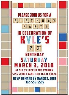 Best scrabble party invitations Reviews