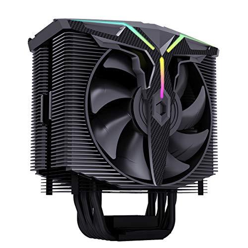 GOLDEN FIELD Wind Walker A-RGB, ventilador de CPU de 5 V M/B SYNC, ventiladores PWM optimizados de doble presión, 6 tubos de calor ventilador de CPU para Intel AMD