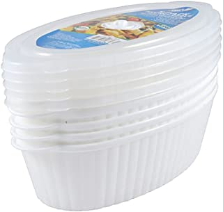 oval food storage containers