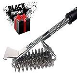 BBQ Brush Bristle Free | Premium Stainless Steel Bristle Free Brush | 18