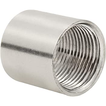 Amazon Com 1 2 Female X Female Threaded Pipe Fitting Stainless Steel Ss304 Npt New Home Improvement