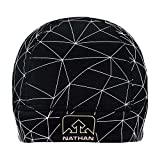 Nathan Reflective Beanie Hat. Pony Tail...