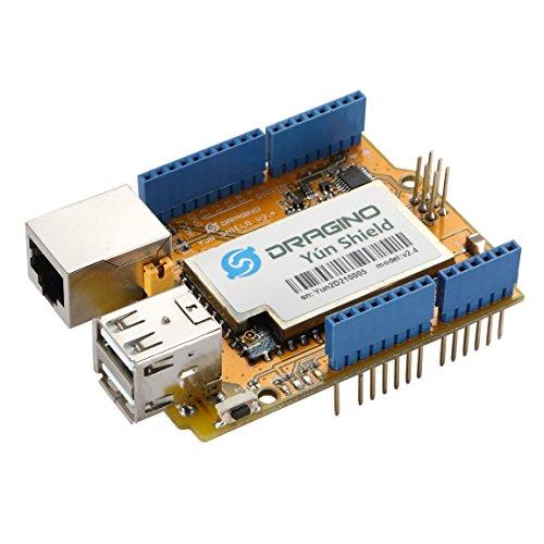 Aihasd Yun Shield v2.4 all-in-One Shield for Arduino Uno LeonardoMega2560 Linux WiFi Ethernet ESP8266 IOT