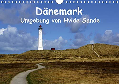 Dänemark - Umgebung von Hvide Sande (Wandkalender 2021 DIN A4 quer)