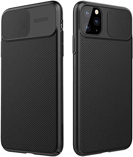 Nillkin iPhone 11 Pro Case with Camera Cover, iPhone 11 Pro Cover Protective with Slide Camera Cover, Upgraded Case for iPhone 11 Pro 5.8 inch(2019),Black