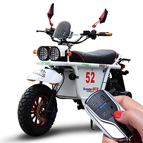 MRMRMNR E-Scooter para Adultos, Control Remoto, Transmisión De 3 Velocidades, 72V 1800W...