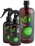 Fresh Wave Odor Removing Spray Bundle: (2) 8 fl. oz. Sprays + (1) 32 fl. oz. Spray Refill