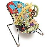 Dondolo Sdraietta Per Neonati Vibrante Fitch Baby Dondolino Altalena con Seduta in Tessuto...
