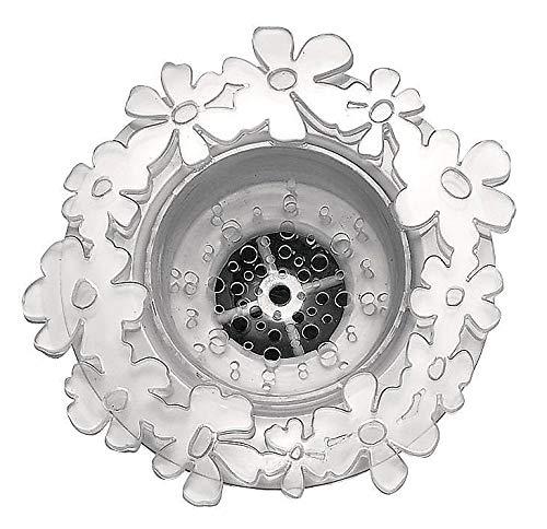 InterDesign 5 in. W x 5 in. L Clear Sink Strainer