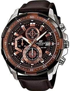 Casio 51-EFR539L-5A material stainless steel Analog Dress watch in round shape for Men's