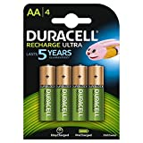 Duracell AA 2400mAh 4 Pack Batterie Rechargeable Hybrides Nickel-métal (NiMH) 1,2 V...