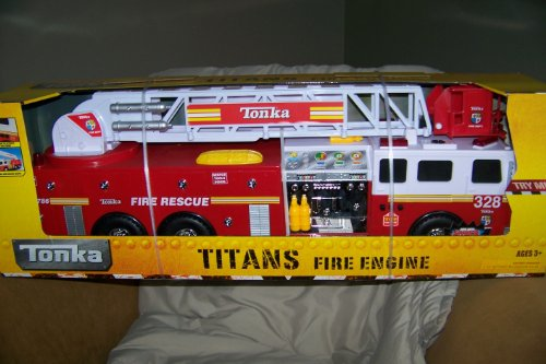Tonka Titans Fire Engine W/Hyper Lighting