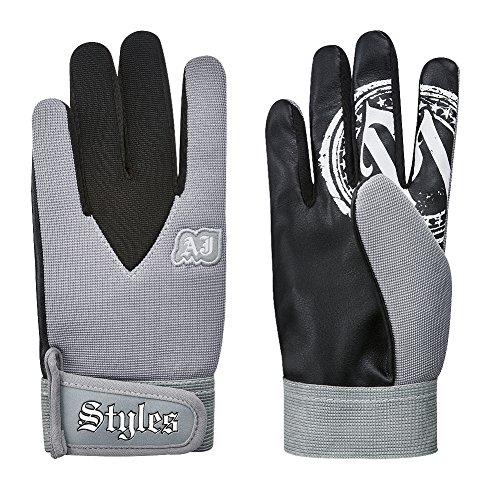 WWE phenomenale Nachahmung der Handschuhe von Allen Jones, professionelle, graue Ringen-Handschuhe für Kinder und Erwachsene