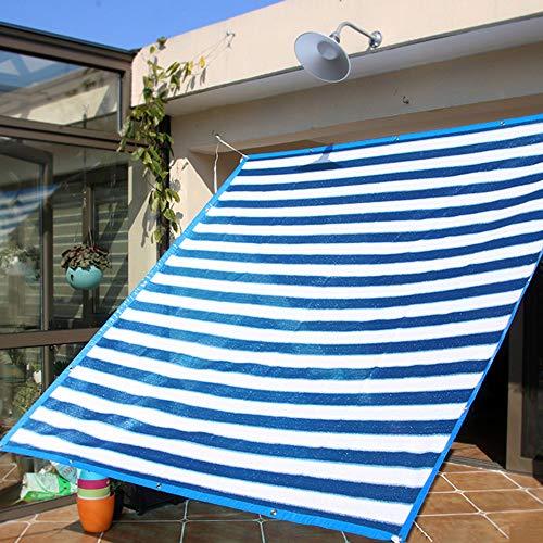 JWW Garten Schattennetz Mit Ösen Sonnenschutznetz Sommer Sonnenschutz Sonnensegel Teiche Pflanze Terrasse UV-Schutz Anti-Aging