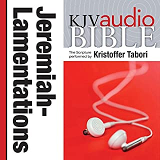 King James Version Audio Bible: The Books of Jeremiah and Lamentations cover art
