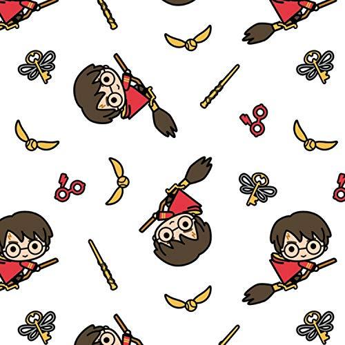 Camelot Tissu Harry Potter 100% coton 0,5m Multiples Cam356 Harry Potter Kawaii Quidditch