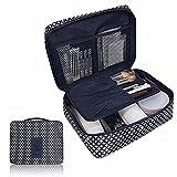 Ouneed® Kulturtaschen , Pocket Trip freie kosmetische Verfassungs Beutel Kultur Travel Kit Organizer (blau)