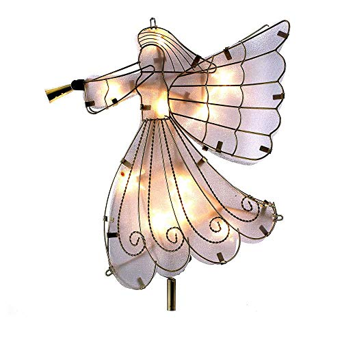 Kurt Adler 24-Inch UL 10 Light Angel Treetop