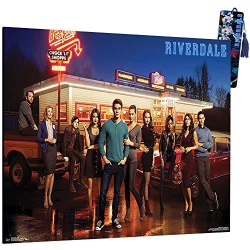 Riverdale Poster Wall Art - Mounted Riverdale Print, Riverdale Room Decor (8'x11', Riverdale Merchandise)