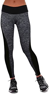 Damen Leggings Strumpfhose Active Running Hosen Casual Pants Workout Leggings.YR.Lover