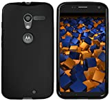 mumbi Hülle kompatibel mit Motorola Moto X Handy Case Handyhülle, schwarz