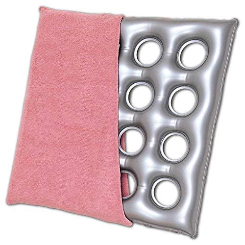 Nikitea 介護用品 床ずれ防止 クッション エアークッション「タフ」タオル地カバー付き 16穴
