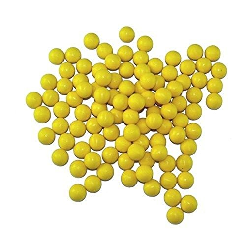 3Skull Re-Usable Rubber 68cal Reusable Balls Paintballs - 100 Rounds