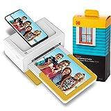 Kodak Dock Plus Stampante Fotografica + 80 fogli, Stampa foto formato 10x15cm, Connessione smartphone wireless via Bluetooth