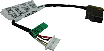 Power4Laptops versión con Cable Corto (por Favor, consulte el Cuadro) Conector de alimentación portátil con Cable Compatible con HP Home 15-ac088nl