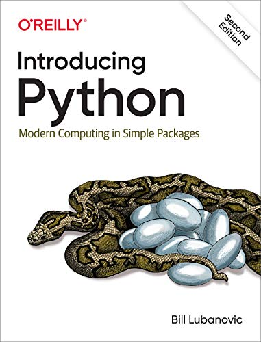 Introducing Python: Modern Computing in Simple Packages