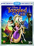 Tangled (Four-Disc Combo: Blu-ray 3D / Blu-ray / DVD / Digital Copy) by Walt Disney Pictures