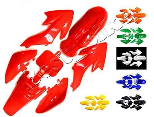 Plastic Fairing Fender Kit for Honda XR50 CRF50 CRF 50 XR 50 SSR SDG 107cc 125cc Chinese Dirt Pit Bike