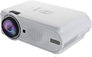 Portable HD 1080PLED Video Projector, HDMI Movie Game Projector for Home Theater Video Game Smartphone