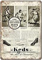 Keds US Rubber Company Sneaker ティンサイン ポスター ン サイン プレート ブリキ看板 ホーム バーために