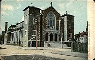 Holy Rosary Church Providence, Rhode Island Original Vintage Postcard