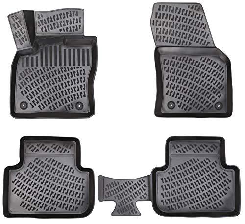 Elmasline Design 3D Gummimatten Set für VW TIGUAN II Baujahr ab 2016 | Extra hoher 5cm Rand