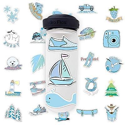 VSCO Girl Stickers for Hydro Bottles - (35 Desi...