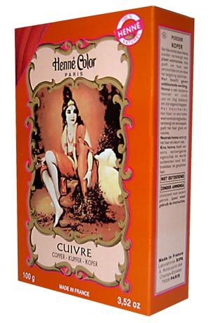 Henne Color Henna Poeder Koper 100gm (PACK VAN 3)