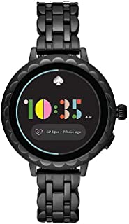 Women's Scallop 2 Stainless Steel Touchscreen Smartwatch with Heart Rate, GPS, NFC, and Smartphone Notifications