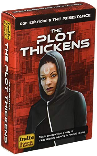 Indie Board & Card Games IBG0RE05 Brettspiel Resistance: The Plot Thickens Expansion