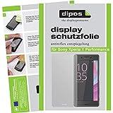 dipos I 2X Schutzfolie matt kompatibel mit Sony Xperia X Performance Folie Bildschirmschutzfolie