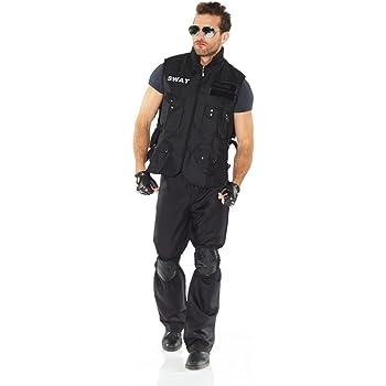 shoperama Juego de 6 SWAT Gafas de Disfraz Incluye Pilot para ...