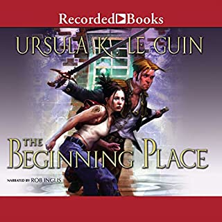 The Beginning Place audiobook cover art