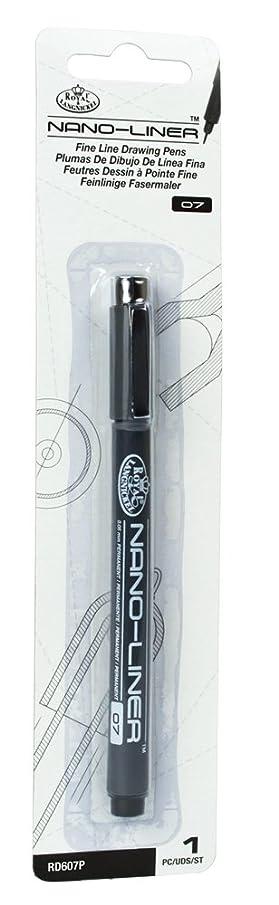 Royal & Langnickel Nano-Liner Drawing Pen, Size 07, Black