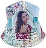 NR Selena Gomez Winter Nackenwärmer Unisex Thermal Fleece Nackenschutz Gesichtsmaske für kaltes...